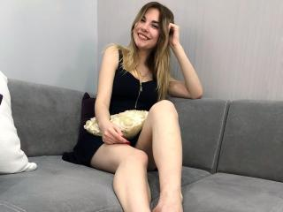 Photo de profil sexy du modèle SweetyKitti, pour un live show webcam très hot !