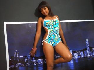 Photo de profil sexy du modèle MichelleChaudeX, pour un live show webcam très hot !