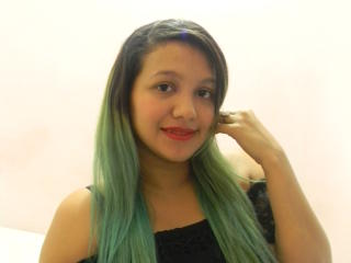 Foto de perfil sexi, da modelo HemaJ, para um live show webcam muito quente!