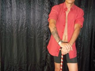 Picture of the sexy profile of Seductiveman, for a very hot webcam live show !