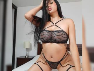 EmilyParkerr - Webcam sex with this black hair Hard young lady