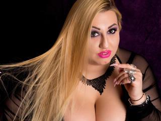 Bild på den sexiga profilen av SensualEvelin för en väldigt het liveshow i webbkameran!