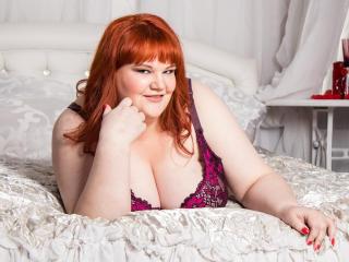 Photo de profil sexy du modèle AimeeRosebud, pour un live show webcam très hot !