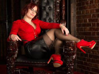 Picture of the sexy profile of MistressOphelia, for a very hot webcam live show !