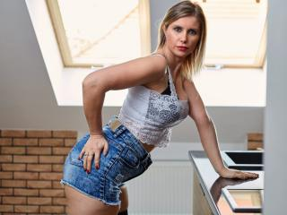 Sexet profilfoto af model DoorenHot, til meget hot live show webcam!