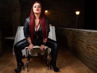BlackyRain - Webcam porn with a red hair Mistress