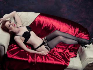 Photo de profil sexy du modèle MegLegs, pour un live show webcam très hot !